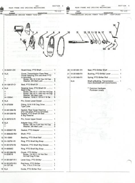 i think i have the pto installation manual and will post it in the manual  section